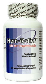 Hem-Relief Hemorrhoid Supplement Review
