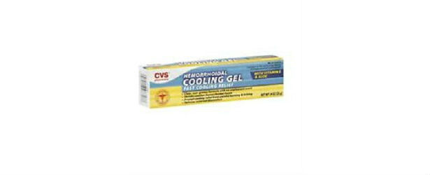 CVS Hemorrhoidal Cooling Gel with Vitamin E Review 615