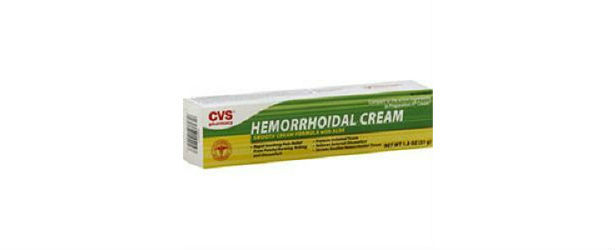 The CVS Hemorrhoidal Cream With Aloe Review 615